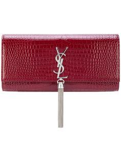 клатч с кисточкой Classic Kate Saint Laurent