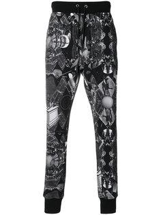 спортивные брюки с Египетски принтом Frankie Morello