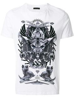 футболка с Египетским принтом Frankie Morello