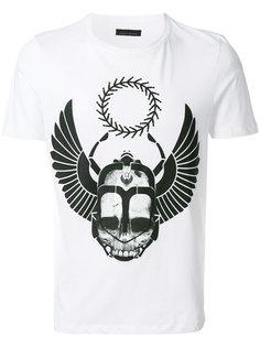 футболка с принтом черепа Frankie Morello