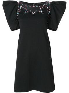 платье мини с отделкой  Frankie Morello