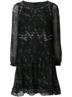 платье с принтом space Frankie Morello