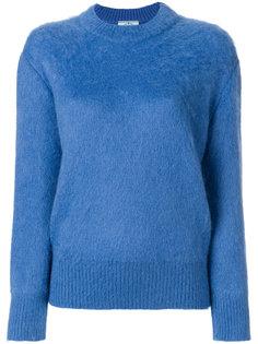 свитер с укороченными рукавами  Prada