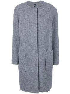 пальто без воротника Eleventy