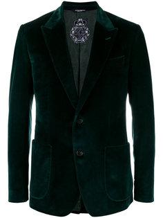 бархатный пиджак Dolce & Gabbana