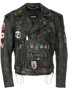 байкерская куртка L-AGO-ED  Diesel