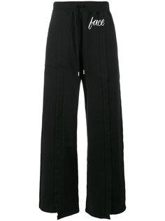 трикотажные спортивные брюки с принтом Face Facetasm