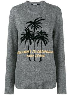 свитер с вышивкой Adaptation