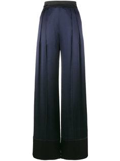 широкие атласные брюки  Michael Lo Sordo