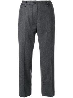классические укороченные брюки Pence