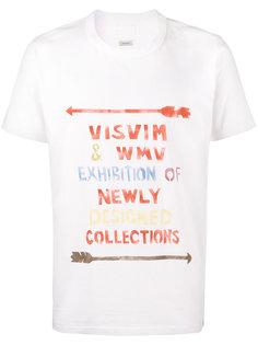 хлопковая футболка с трафаретным принтом Visvim