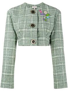 укороченный твидовый пиджак Natasha Zinko