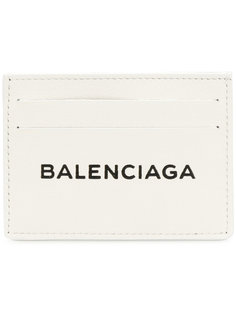 визитница с принтом логотипа Balenciaga