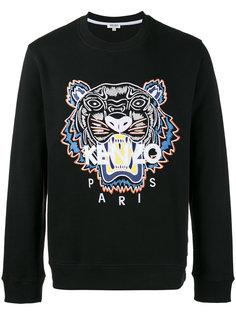 свитер с аппликацией тигра Kenzo