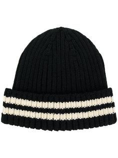 шапка с двумя полосками Junya Watanabe Comme Des Garçons
