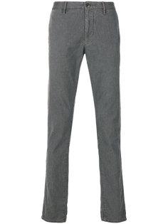 брюки кроя скинни Incotex