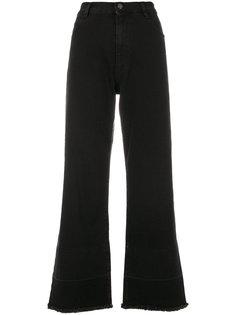 укороченные расклешенные джинсы Vivetta