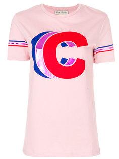 футболка с тройной буквой C Être Cécile