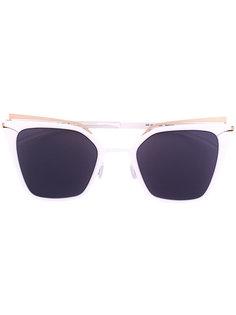 """солнцезащитные очки в оправе """"кошачий глаз"""" с затемненными линзами Mykita"""
