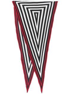 шарф с графическим треугольным принтом Haider Ackermann