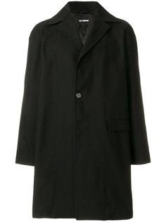 пальто с карманом с клапаном Raf Simons