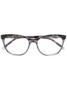 очки в квадратной оправе с принтом Calvin Klein