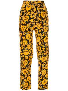 спортивные брюки с цветочным принтом  Kenzo