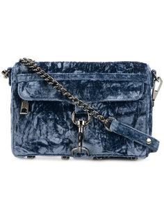 бархатная мини сумка на плечо MAC Rebecca Minkoff
