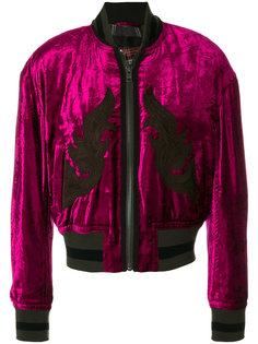 декориорванная куртка-бомбер  Haider Ackermann