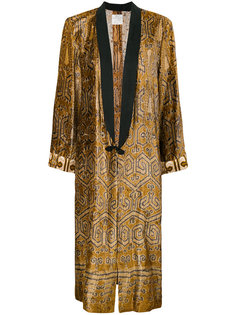бархатное пальто-кимоно Forte Forte