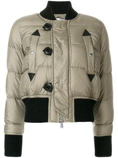 дутая куртка-бомбер  Dsquared2