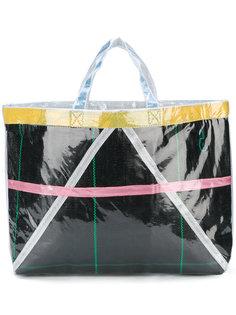 сумка-тоут с вощеным покрытием  Comme Des Garçons Comme Des Garçons