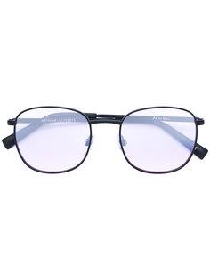 квадратные солнцезащитные очки с затемненными линзами Le Specs