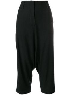 брюки с заниженным шаговым швом Nesir Ivan Grundahl