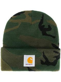 шапка с камуфляжным принтом Carhartt