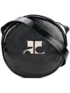 сумка через плечо с логотипом Courrèges