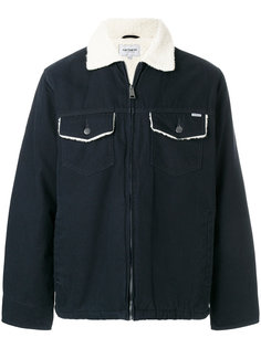 куртка на молнии с меховым воротником Carhartt