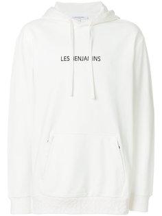 худи с принтом логотипа Les Benjamins