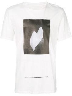 футболка с абстрактным принтом Cy Choi