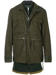 многослойная куртка Cy Choi