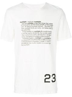 футболка с графическим принтом  Cy Choi