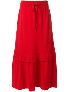 юбка с двойным подолом Laneus