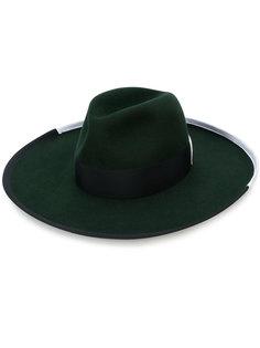 шляпа с бантом Borsalino