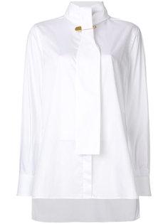 рубашка с декоративной булавкой Burberry