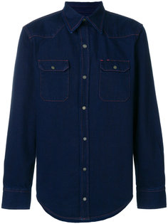 приталенная джинсовая рубашка Calvin Klein Jeans