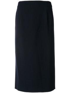 юбка-карандаш с завышенной талией  Alberta Ferretti