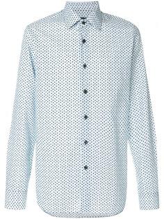 рубашка с принтом стрел Prada