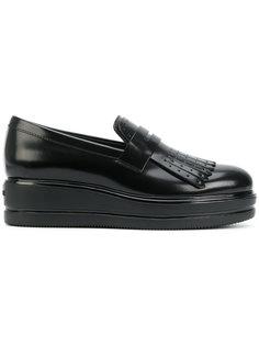 туфли на платформе Hogan