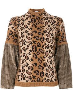 леопардовый свитер Loewe