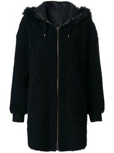 пальто с капюшоном Meteo By Yves Salomon